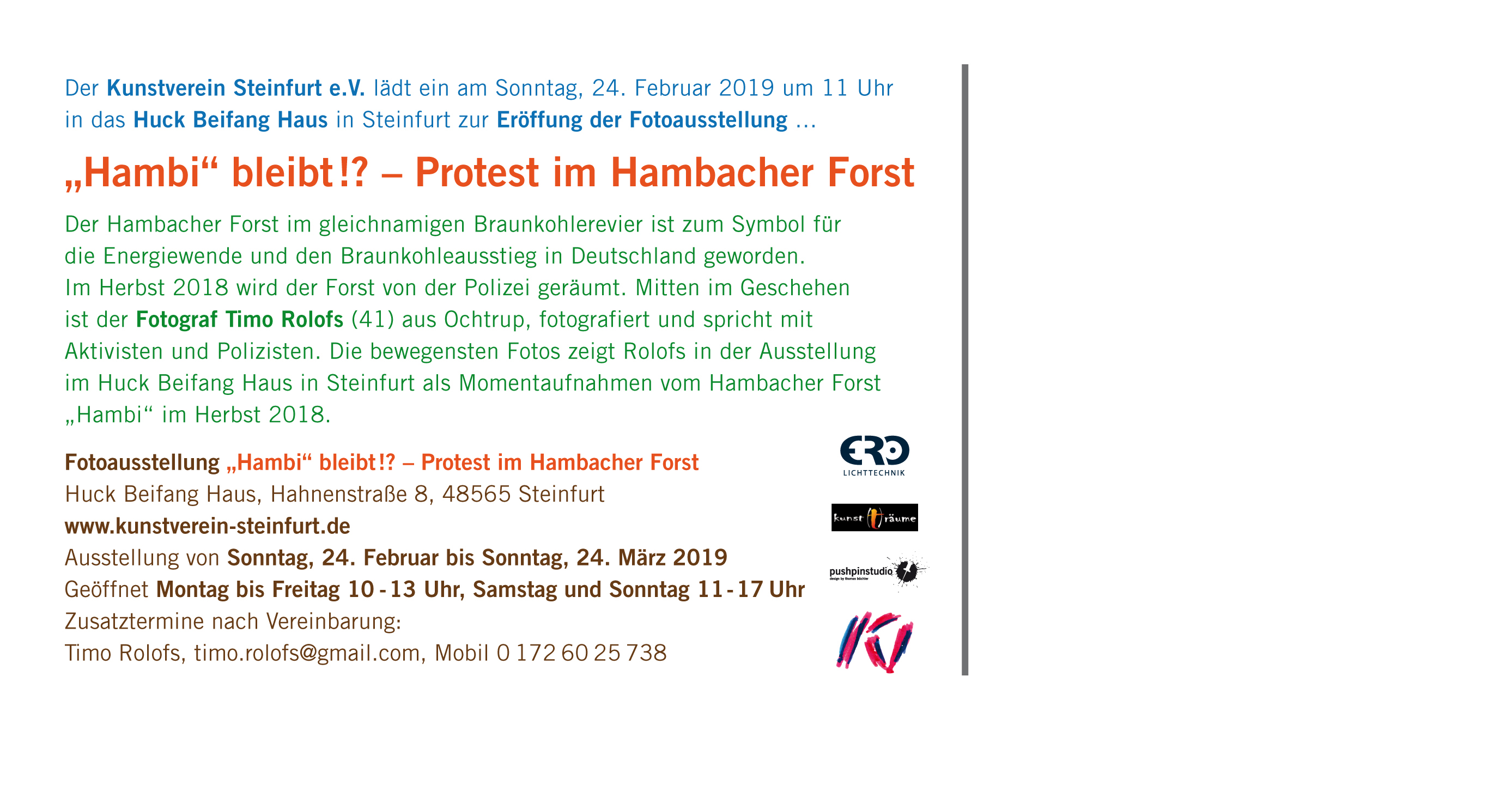Timo Rolofs  Hambacher Forst